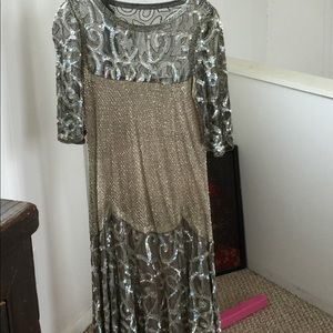 Dresses & Skirts - Handmade gown with beads and sequences.